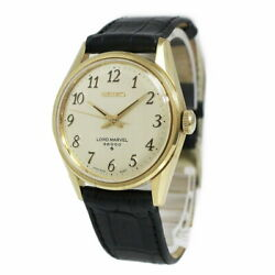 Seiko Lord Marvel Hand Winding Men's Watch 5740-8000 Antique Vintage