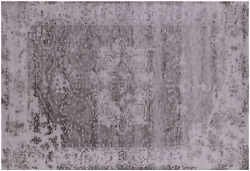 Heriz Serapi Wool And Silk Hand Knotted Rug 6and039 2 X 9and039 2 - Q6317