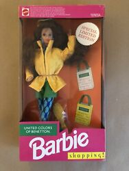 Barbie United Colors Of Benetton Shopping Teresa Nrfb 1991 Made In China