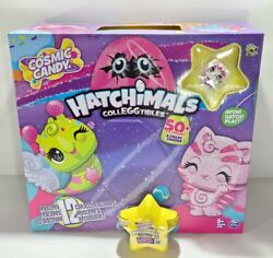 Full Box Lot Of 32 New Hatchimals Cosmic Candy Stars Packs Colleggtibles Display