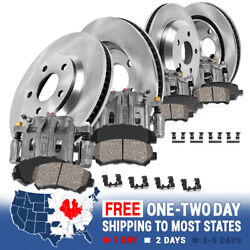 Front And Rear Brake Calipers And Rotors And Pads For 2011 - 2016 Mazda Mx-5 Miata