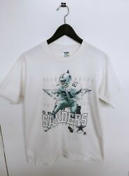 Vtg 1996 Dallas Cowboys Deion Sanders Official Fan Made In Usa T-shirt Size M