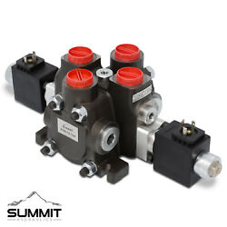 Hydraulic Solenoid Directional Control Valve, Double Acting, 1 Spool, 27 Gpm