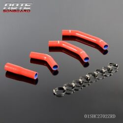 Red Silicone Radiator