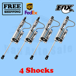 Fox Front And Rear 4-6 Lift Shocks For Chevrolet Suburban 2500 2000-2013