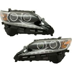 Headlights Lamps Set Of 2 Left-and-right 8114033a60-pfm 8107033a60-pfm Pair