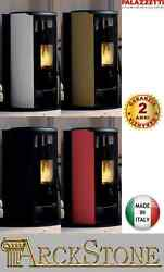 Palazzetti Jackie Idro 26 Thermo Pellet Stove Hermetic Air Airy 253kw