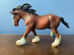 Corral Pals: CollectA by Breyer Clydesdale Stallion Bay 88621