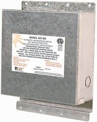 New Ats Line Generator Switches Parallax Ats 503 Rating 120/240 Volts 50 Amps 3-