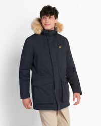 Lyle And Scott Parka Jacket With Winter Weight Microfleece
