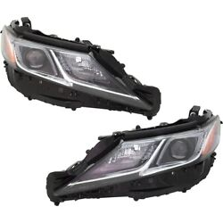 Pair Set Of 2 Headlights Lamps Left-and-right 8113033d40, 8117033d00 Lh And Rh