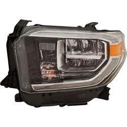 Headlight Lamp Left Hand Side Driver Lh 811500c140 For Toyota Tundra 2019-2020