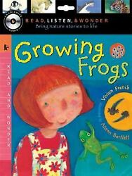 Growing Frogs With Audio, Peggable Read, Listen And Wonder Vivian French