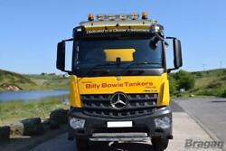 Roof Bar A + Spots + Led + Beacons + Air Horns + Clamp For Mercedes Arocs Low