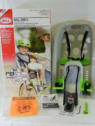 Bell Sports Shell Rear Child Carrier Seat - Fits Most Bikes - For Ages 1-4 Years