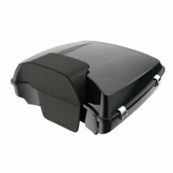 Midnight Pearl Razor Tour Pack Luggage Trunk For 97-20 Harley Street Road Glide