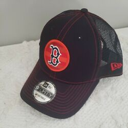 BOSTON RED SOX NEW ERA 940 SNAPBACK TRUCKER HAT CUSTOM quot;FILL Tquot; ADJUSTABLE $28