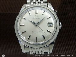 Omega Seamaster 66.010-67s.c. Date Silver Dial Automatic Vintage Watch 1970's