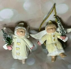 House Of Hatten 1996 Wings Of Light On Swing Christmas Ornaments Denise Calla