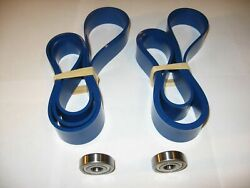 Kity 613 Blue Max Ultra Duty Urethane Band Saw Tires And 2 Thrust Bearings 613