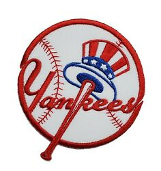 New York Yankee#x27;s World Series MLB Baseball Embroidered Iron On Patch