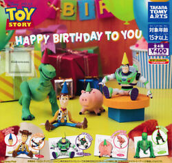 Toy Story Happy Birthday To You Figure All 4 Types Set Capsule Toy