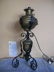Real Antique Items With No Damage. Oil Lamp. Rare To Find.