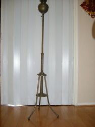 Real Band Antique Item With No Damage. Retired Force Sale. Oil Lamp. Rare To Find.