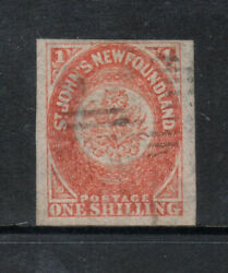 Newfoundland 15 Very Fine Used With Large Margins - Tiny Thin With Cert.