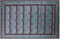 William Morris Hand Knotted Wool Rug 11and039 9 X 18and039 2 - Q8471