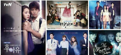 Asian TV Dramas DVDs with English Subtitles List 19 for $17.99