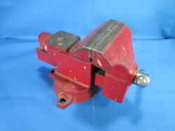 Vintage Companion / Sears Swivel Bench Vise 3 1/2'' Jaws Free Shipping Nice