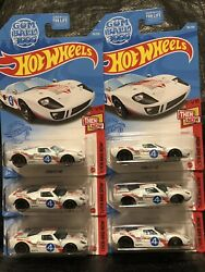 2021 Hot Wheels Then And Now 78 Ford Gt-40 Gumball Rally Lot Of 6
