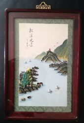 Amazing Piece Of Asian Sea Shell Art. Must See Photos To Believe. Rare