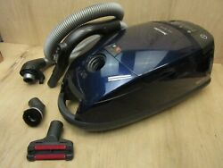 Genuine Miele S658 Blue Moon Vacuum - Vacuum With Electric Hose Only