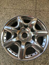 Factory Bentley Continental Chrome 20 Inch Wheel Oem Gtc Flying Spur Perfect