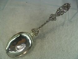 Dutch Monk With Bird Solid Silver Figural Table Spoon 1838