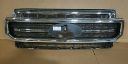 New Take Off 2020 2021 Ford Super Duty Lariat Sport Grille Chrome