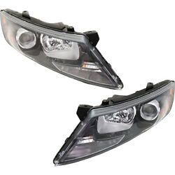 Headlights Lamps Set Of 2 Left-and-right 921022t131 921012t131 Lh And Rh Pair