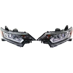 Set Of 2 Headlights Lamps Left-and-right 5385106040 5385206040 Lh And Rh Pair