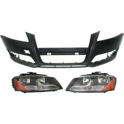 Set Of 3 Headlights Lamps Left-and-right 8p0941004bd, 8p0941003bd, 8p0807105egru