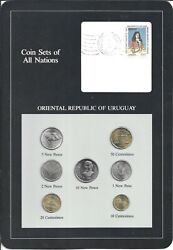 Coins Of All Nations - Urugay - 7 Coin Set - 1980-1981 Coan 74