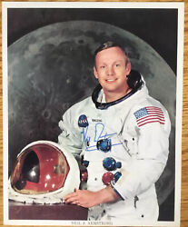 Neil Armstrong Signed Nasa Photo 8x10