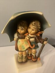 Hummel Stormy Weather Boy And Girl Figurine 71 Tmk Collectable Tabletop Decor