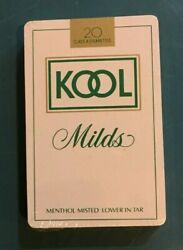 Vintage Kool Cigarettes Milds Playing Cards - Sealed In Plastic