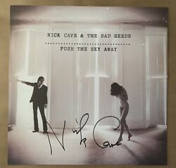 Nick Cave And The Bad Seeds Signed Poster Push The Sky Away Proof