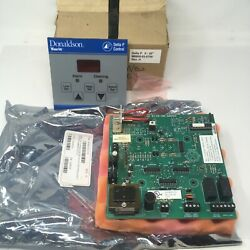 New Donaldson Torit Delta P Control Circuit Board M9805020700 And Cover Extron