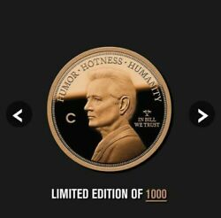 2020 Bill Murray Bfm Kcco Conch Republic Island Solid Copper 1 Oz Coin Sold Out