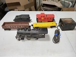 Lionel 8300 Steam Engine O Gauge In Gc Vintage Extra Rail Cars,controller