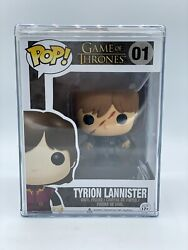 Funko Pop Scarred Tyrion Game Of Thrones Near Mint Popcultcha Exclusive Grail